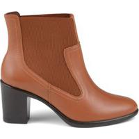 Bota Ankle Chelsea Tan