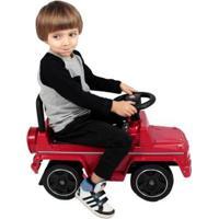 Carrinho De Passeio Andador Mercedes Benz Vm Bel Brink - Unissex-Vermelho