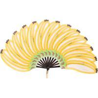 Pubumésu Leque De Banana - Amarelo