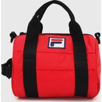 Bolsa Fila Tube Vermelha - Vermelho - Dafiti