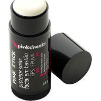 Protetor Solar Facial Pinkcheeks Pink Stick 5 Km Incolor Fps 90 Fpuva 70 - Feminino