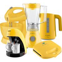 Kit Colors Amarelo Completo Iii Cadence 220V