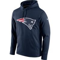 Blusão Nike New England Patriots Performance Logo Essentials Mascul...