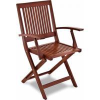 Cadeira Fitt Dobrável Com Braço Eco Blindage