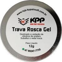 Trava De Rosca Kpp Para Vedação Cilindro Airsoft - Unissex