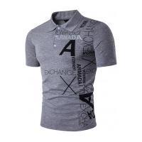 Camisa Polo Exchange - Cinza Clara