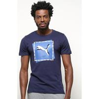 Camiseta Puma Cat Brand Graphic Masculina - Masculino