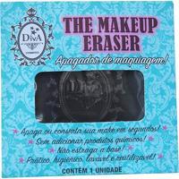 Apagador De Maquiagem Diva The Makeup Eraser Preto
