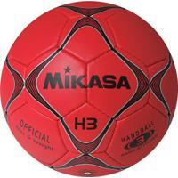 Bola Mikasa H3 Handebol Vermelha