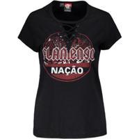 Camisa Flamengo Metal Braziline Feminina - Feminino