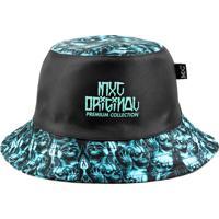 Chapéu Bucket Mxc Original - Blue Skull