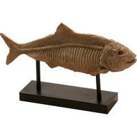 Escultura Decorativa De Resina Big Fish
