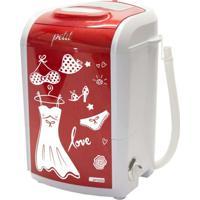 Maquina Lavar Petit Fitness Vermelho