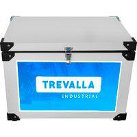Caixa Térmica Galvanizada 68L Trevalla Ctgt-75 Válvula De Escoamento