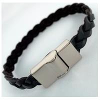 Bracelete Estilo Ráfia Nova York Preto
