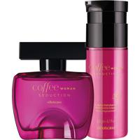 Combo Coffee Woman Seduction: Des. Colônia + Loção Hidratante Corporal