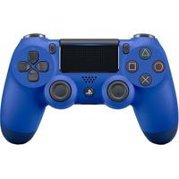 Controle Sony Dualshock 4 Azul Sem Fio (Com Led Frontal) - Ps4 - Unissex