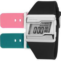 Relógio Mormaii Digital Fzt8J Feminino - Feminino-Branco