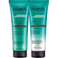 Combo Match Respeito Aos Lisos: Shampoo Manutenção + Condicionador Manutenção