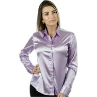 Camisa Pimenta Rosada Mariah - Feminino-Lilás