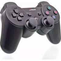 Controle Sem Fio X Zhang Dualshock Ps3 Wireless Preto