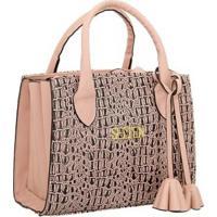 Bolsa Selten Handbag Sanfonada Feminina - Feminino-Rosa Bebê