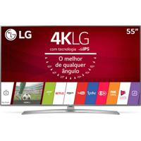 "Smart Tv Lg Ultra Hd 55"" Painel Ips 4K 55Uj6545 Com Hdr, Upscaler 4K,"