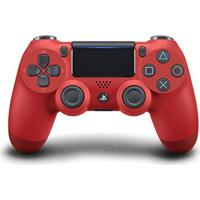 Controle Playstation Dualshock 4 Magma Red Ps4 Sony