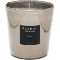 Baobab Collection Vela Aromática Platinium - Prateado