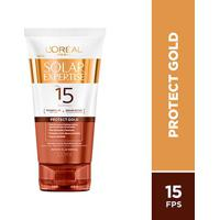 Protetor Bronzeador Solar Expertise Protect Gold Fps 15 - 120Ml - Unissex