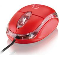 Mouse Óptico Classic Usb Vermelho Multilaser - Mo003