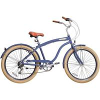 Bicicleta Blitz Beach Cruiser Mistral Aro 26 Shimano - Unissex
