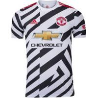 Camisa Manchester United Iii 20/21 Adidas - Masculina - Branco