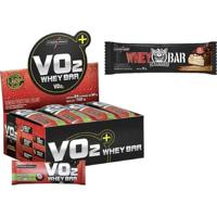 Vo2 Protein Bar C/ 24 Barras + Whey Darkness Bar - Integralmédica - Unissex