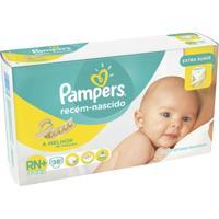 Fralda Pampers Rn Plus 38 Tiras New - Unissex