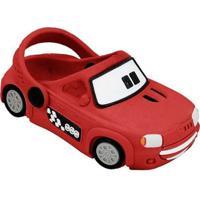 Babuche Infantil Carro Uno - Unissex-Vermelho