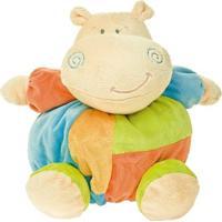 Pelúcia - Turminha Bolinha - Hipopótamo - Buba - Unissex-Incolor