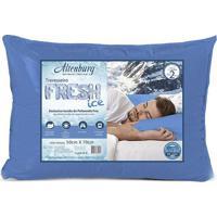 Travesseiro Fresh Ice - Azul - 70X50Cm - Altenbualtenburg