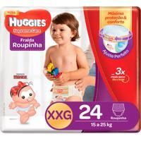 Fralda Roupinha Huggies Supreme Care Tamanho Xxg 24 Unidades