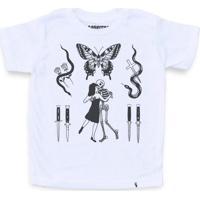 Flashes Tattoo - Camiseta Clássica Infantil