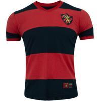 Camisa Do Sport Recife 1987 Retrômania - Masculina - Vermelho/Preto
