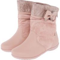 Bota Kidy Soft Cidreira Infantil Rosa