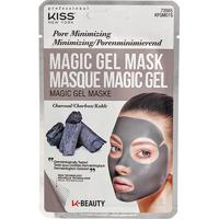 Máscara Facial Kiss New York - Magic Gel Mask Carvão - 1 Unid. - Feminino-Preto