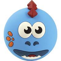 Caixa De Som Portátil - Bluetooh - 5W Rms - Dino - Azul - Oex Kids