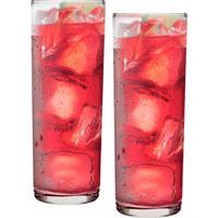 Conjunto De Copos Long Drink 320Ml 2 Peças - Ruvolo Transparente