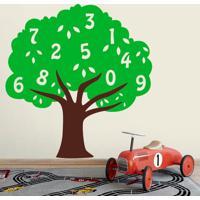 Adesivo De Parede Árvore Numeral