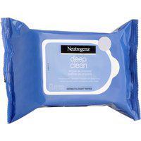 Lenço Demaquilante Neutrogena Deep Clean Com 25 Unidades 25 Unidades