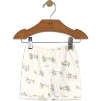 Short Aviador- Off White & Bege Claroup Baby - Up Kids