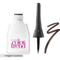 Delineador Líquido Color Trend- Marrom- 3Mlavon