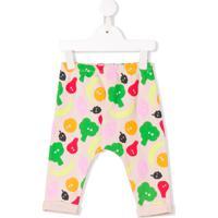 Stella Mccartney Kids Calça Com Estampa De Frutas - Rosa
